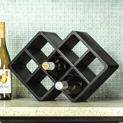 Superiore Livello Firenze 7 Bottle Tabletop Wine Rack