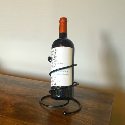 Superiore Livello Milano 1 Bottle Tabletop Wine Rack