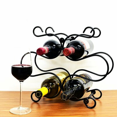 Superiore Livello Florence 6 Bottle Tabletop Wine Rack