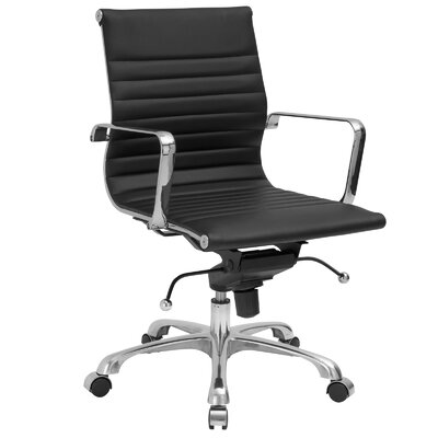 Edgemod Mid-Back Executive Office Chair with Arms