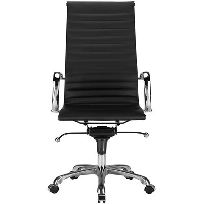 Edgemod Ribbed High-Back Executive Office Chair