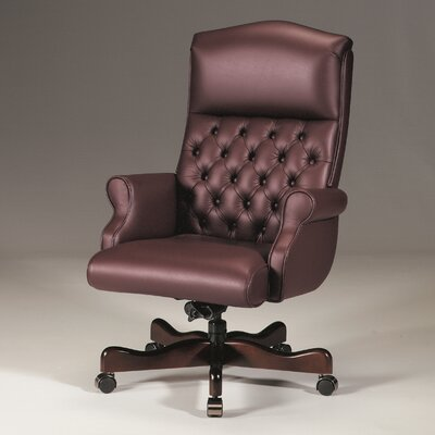 Triune Business Furniture High-Back Leather Executive Chair