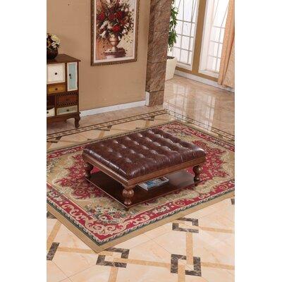 Corzano Designs Classic Upholstered Ottoman