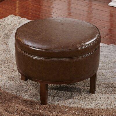 Corzano Designs Premium Round Storage Ottoman