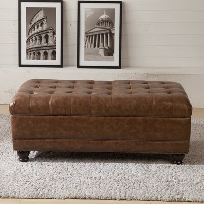 Corzano Designs Classic Upholstered Storage Bedroom Bench