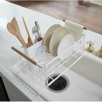 Yamazaki Usa Tosca Over The Sink Dish Drainer Rack Wayfair