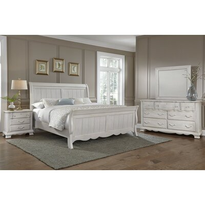 Virginia House Villa Sophia Sleigh Customizable Bedroom Set