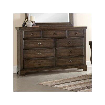 Virginia House Whiskey Barrel 9 Drawer Dresser