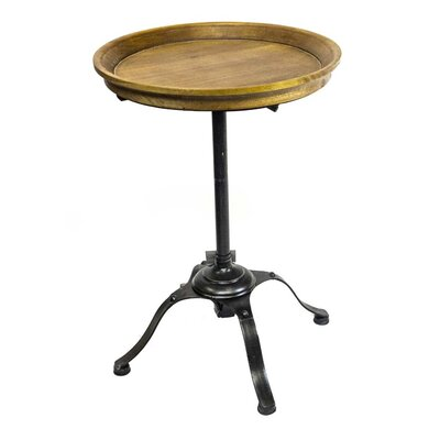 Sagebrook Home Wood & Metal End Table
