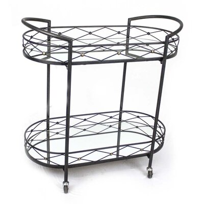 Sagebrook Home Serving Cart