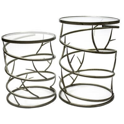 Sagebrook Home Audrey End Table