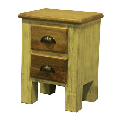 The Urban Port Enticing 2 Drawer Cabinet