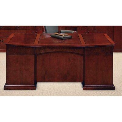 Flexsteel Contract Del Mar Bow Front Executive Desk