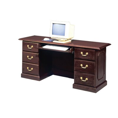 Flexsteel Contract Governor's Computer Desk