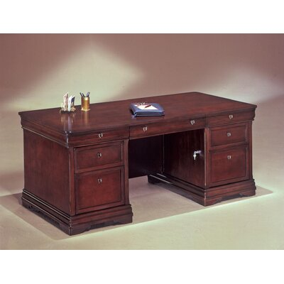 Darby Home Co Knickerbocker Executive Desk