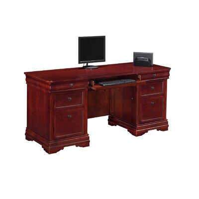 Darby Home Co Knickerbocker Executive Desk