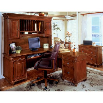 Red Barrel Studio Buckeye 3-Piece L-Shape Desk Office Suite