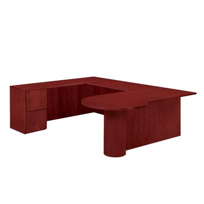 Flexsteel Contract Saratoga U-Shape Executive Desk