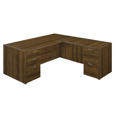 Flexsteel Contract Fairplex Executive Desk w..