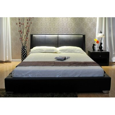 Greatime Upholstered Platform Bed