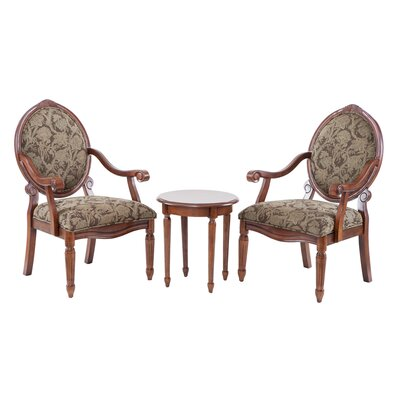 Madison Park Madison Park Brentwood 3 Piece Arm Chair Set