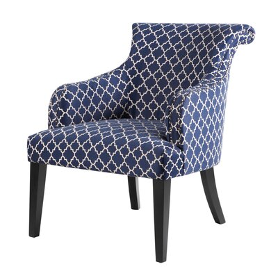 Madison Park Alexis Rollback Arm Chair