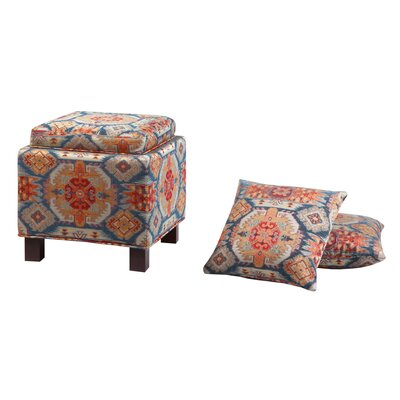 Madison Park Madison Park Shelley Square Storage Ottoman