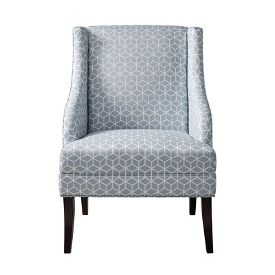Brayden Studio Santo Swoop Arm Chair