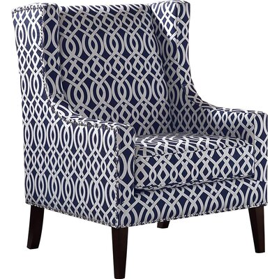 Breakwater Bay Lotus Wing Arm Chair