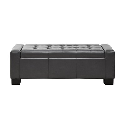 Alcott Hill Valerie Tufted Top Storage Ottoman