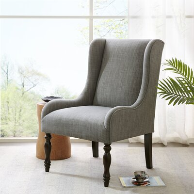 Alcott Hill Kenmar Turned Leg Wingback Ch..