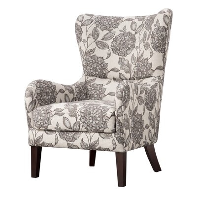 Lark Manor Campeaux Swoop Wingback Chair