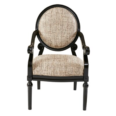 Astoria Grand Goode Exposed Wood Arm Chair