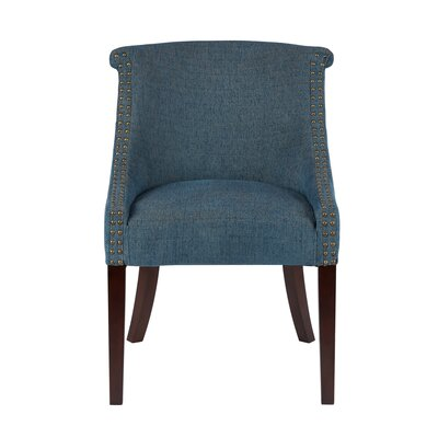 Charlton Home Cary Roll Back Armchair