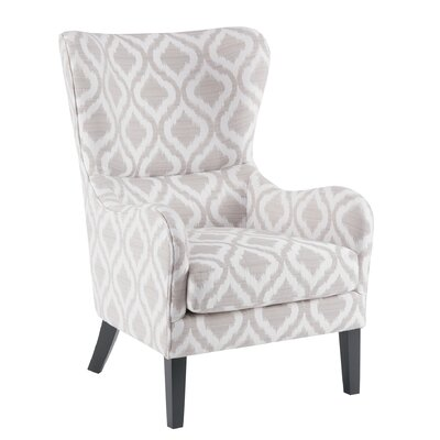 Alcott Hill Shives Swoop Wingback Chair
