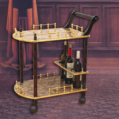Uniquewise 2-Tier Serving Cart