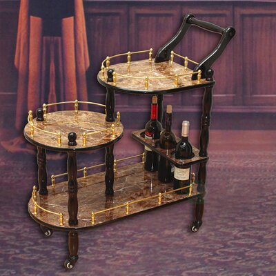 Uniquewise 3-Tier Serving Cart