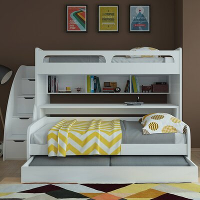 Multimo Multimo Twin Bunk Bed with Trundle