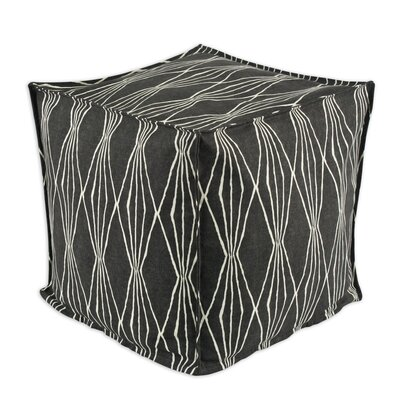 Brite Ideas Living Handcut Shapes Cube Pouf Ottoman