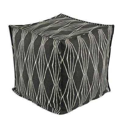 Brite Ideas Living Handcut Shapes Cube Pouf Ottoman