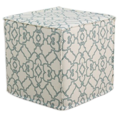 Brite Ideas Living Windsor Seamed Cube Ottoman