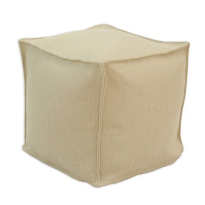 Brite Ideas Living Burlap Beads Ottoman