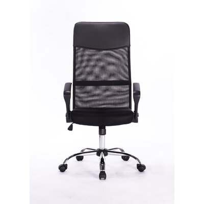 Attraction Design Home High-Back Mesh Executive Office Chair Image
