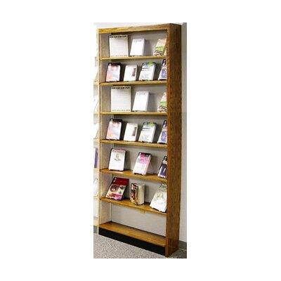 W.C. Heller Open Back Single Face Shelf Adde..