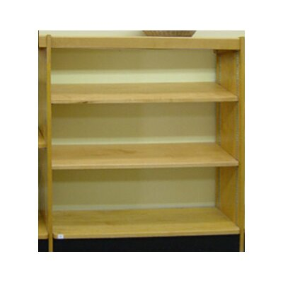 W.C. Heller Open Back Single Face Shelf Standard Bookcase