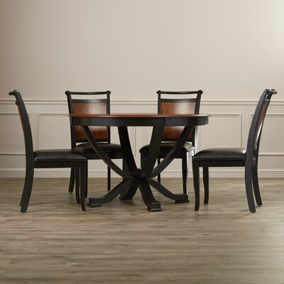 Rosalind Wheeler Beaufort 5 Piece Dining ..