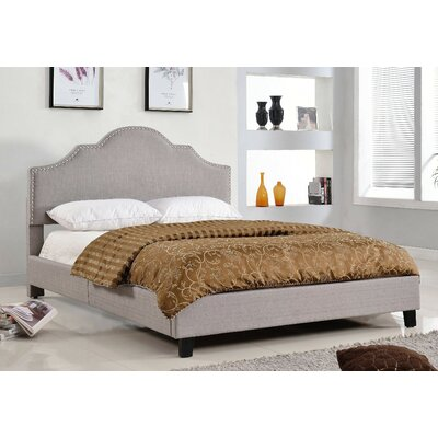 Rosalind Wheeler Queen Upholstered Platform Bed