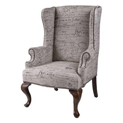 Rosalind Wheeler Skypark Wing Arm Chair