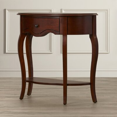Rosalind Wheeler Silver Oaks Console Table
