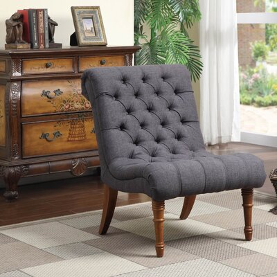 Rosalind Wheeler Bottrell Tufted Side Chair